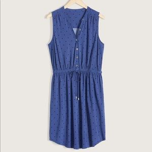 Additionelle Sleeveless Fit & Flare Shirt dress 2X
